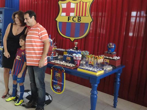 Festa Futebol do Barcelona   Dani Machado Eventos