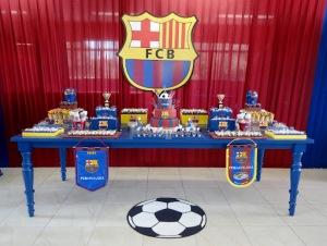 Festa Futebol do Barcelona