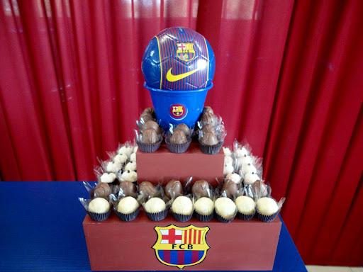 Festa futebol do barcelona dani machado eventos - Decoracion infantil barcelona ...