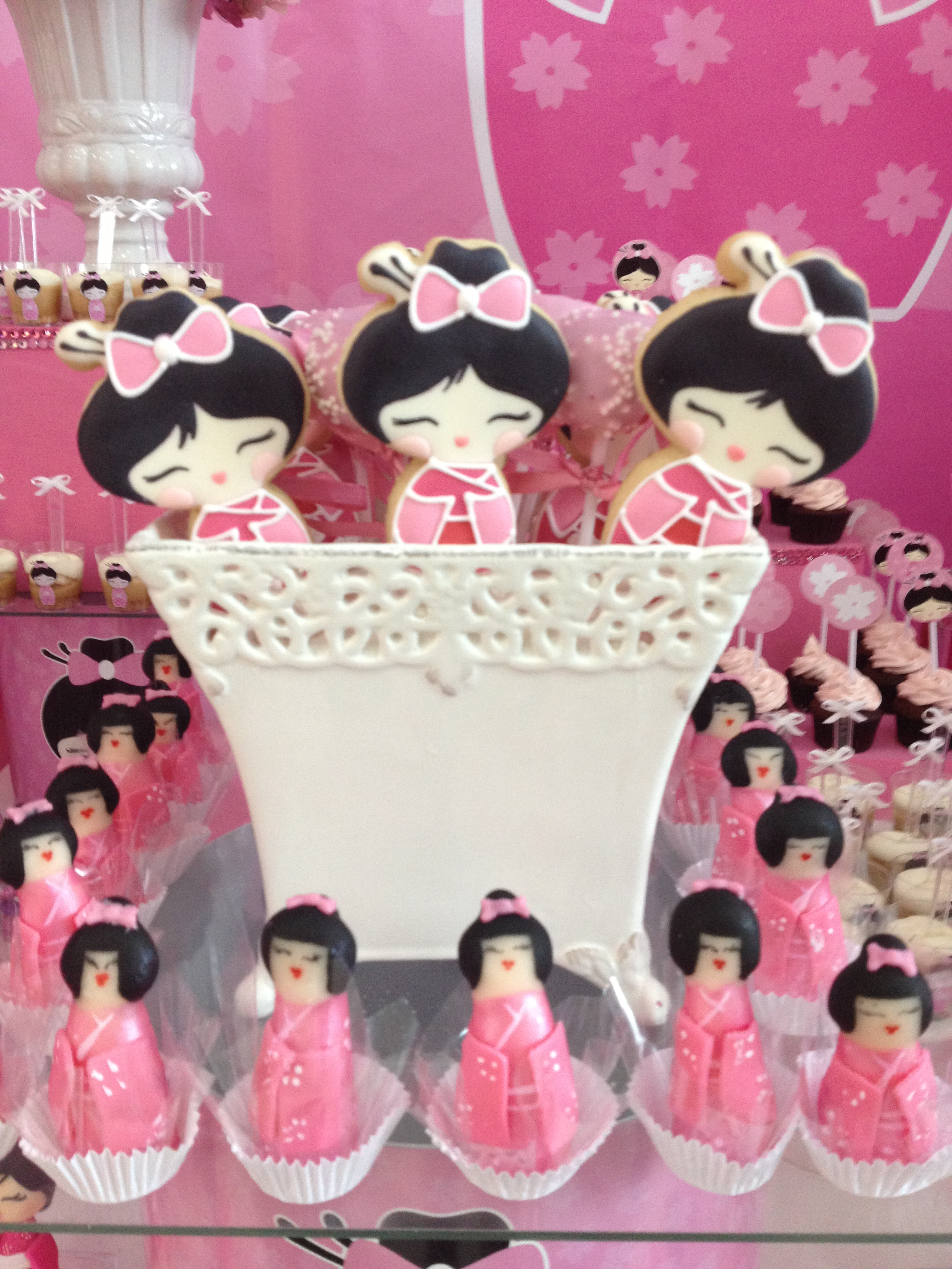 decoracao festa kokeshi:Festa Kokeshi